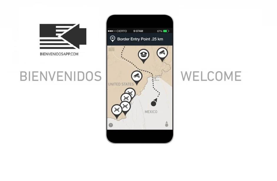 App ofrece ayuda para cruzar a EU ilegalmente