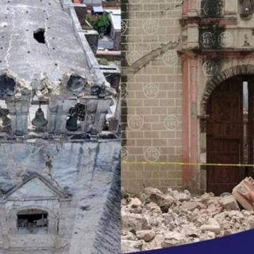 UNAM rescata pinturas murales en conventos de Morelos afectados por sismo