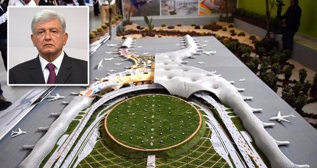 AMLO alista amparos contra el nuevo aeropuerto