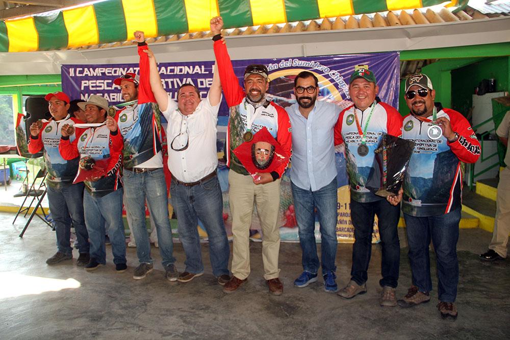 Chiapas domina el 2° Campeonato Nacional de Pesca Deportiva