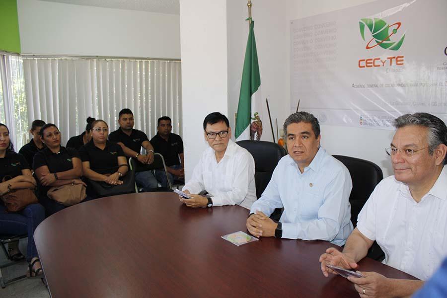 CECyTE Chiapas y CANIRAC firman convenio de colaboración