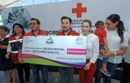 Fernando Castellanos y Cruz Roja arrancan colecta en Tuxtla