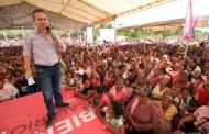 Gobernador entrega Salario Rosa a mujeres de Mapastepec
