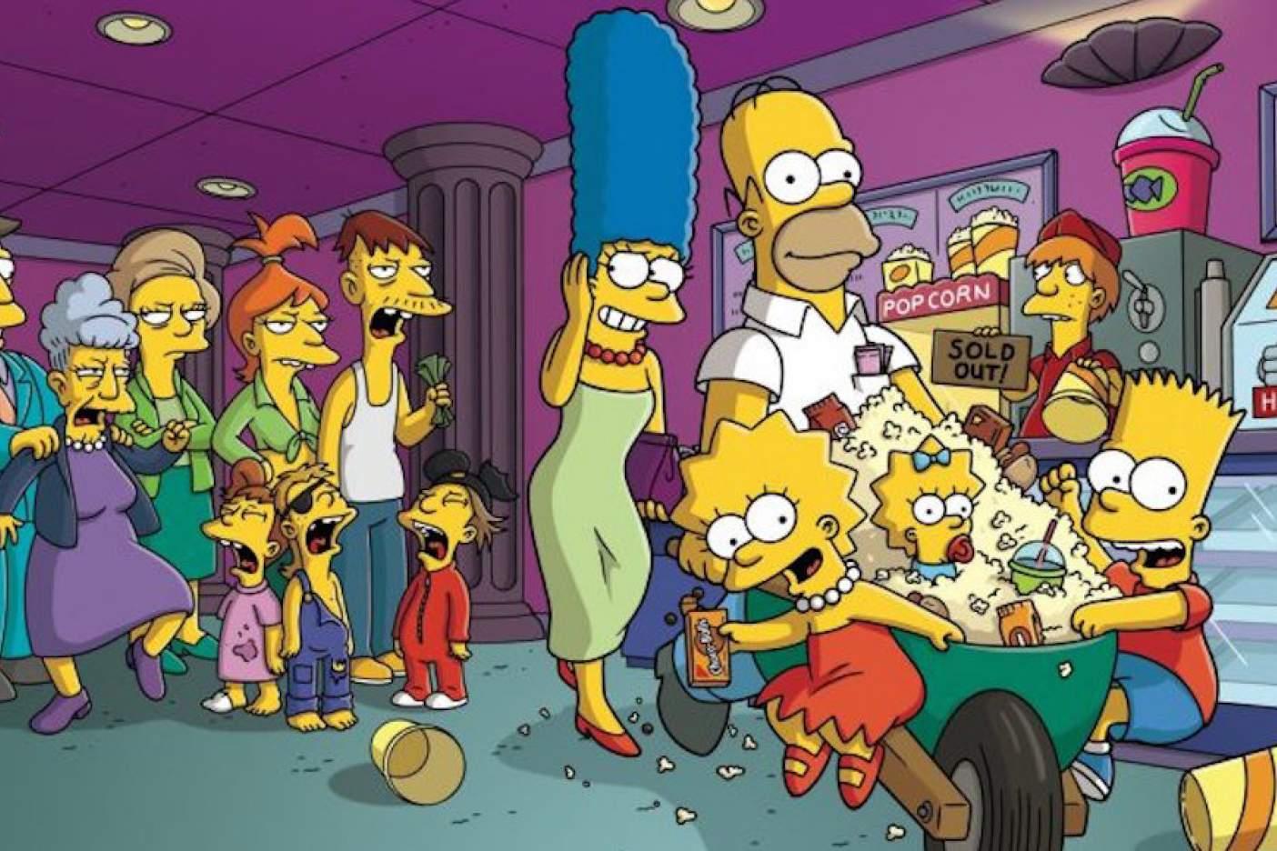 Al diccionario, palabra inventada de Los Simpson
