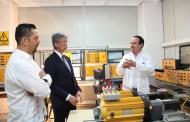 Visita embajador de Japón instalaciones de UPCh