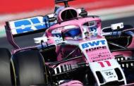 """""""Checo"""" Pérez quiere podio en nueva temporada de Fórmula 1"""