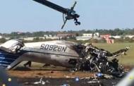 Tres muertos en Laredo por accidente de avioneta