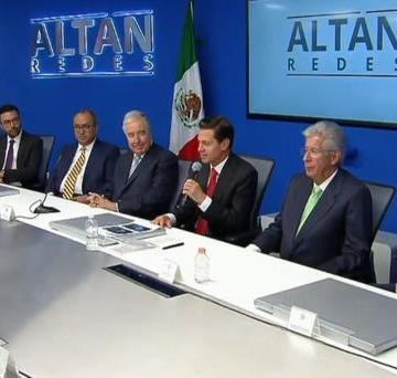 Asegura Peña Nieto que México gana con modelo de Red Compartida