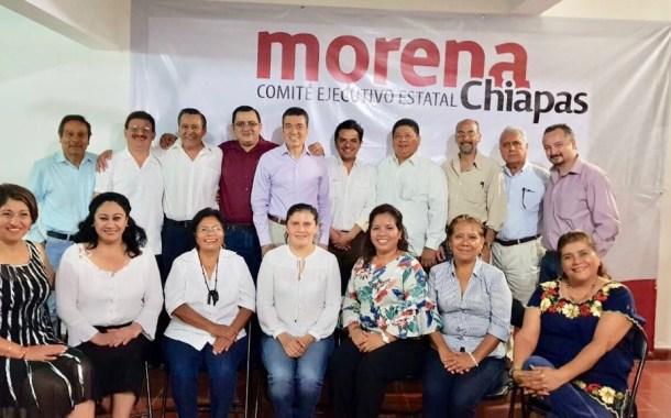 Morena afina en Chiapas estrategias para las elecciones de 2018