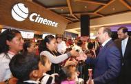 Presentan gobierno federal y Cinemex campaña de protección civil