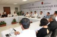 Firma de compromiso entre FEPADE y gobierno de Chiapas para blindaje electoral
