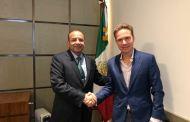 Acuerdan Velasco y Prida reforzar seguridad y respeto a derechos de migrantes