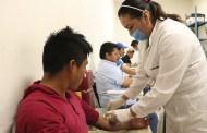 Fomenta Secretaría de Salud   donación voluntaria de sangre