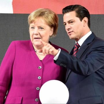 México, el socio más importante de América Latina: Merkel