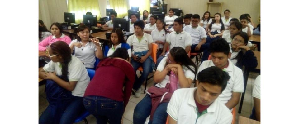 Previene FGE casos de trata de personas, en estudiantes de preparatoria