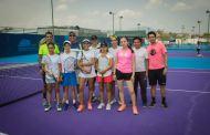 Tenistas fortalecen preparación de cara a Olimpiada Nacional 2018
