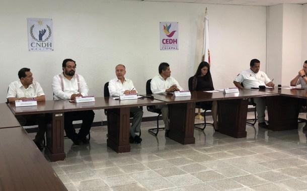 Alianza entre Naciones Unidas, gobierno de Chiapas y CEDH