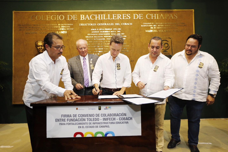 Gobierno de Velasco impulsa crecimiento del Cobach