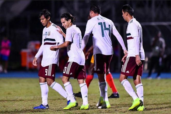 La selección mexicana Sub 20 no tuvo piedad de Granada