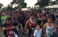 Llegan a Chihuahua los primeros hondureños de la caravana migrante