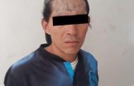 Grupo Táctico de la Policía Municipal asegura a sujeto por robo a comercio