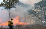 Autoridades de Gobierno no bajarán la guardia en el combate de incendios