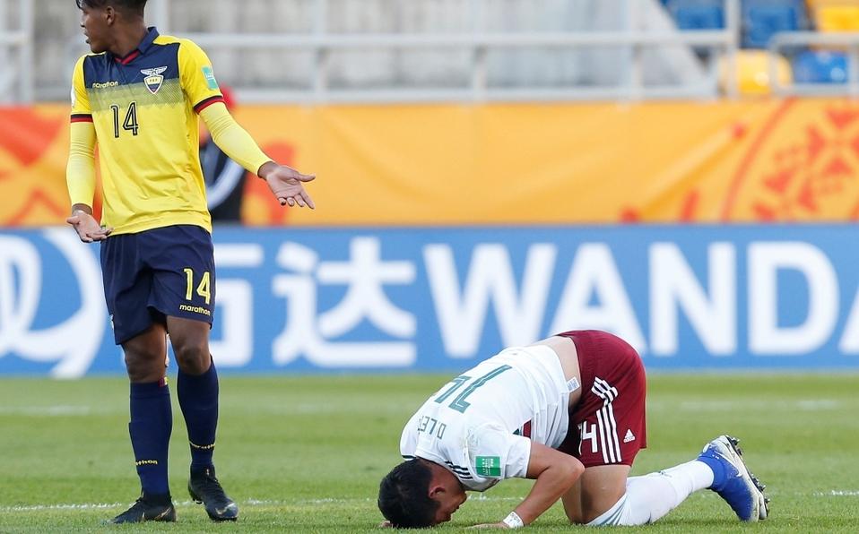 México es eliminado del Mundial Sub-20 con cero puntos