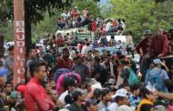 Migrantes utilizan como trampolín a Chiapas