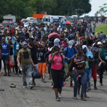 Cubanos y haitianos aumentaron 2,684% en México entre enero y agosto de 2019