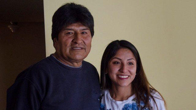 Otorgan salvoconducto a hija de Evo Morales, tendrá asilo en México