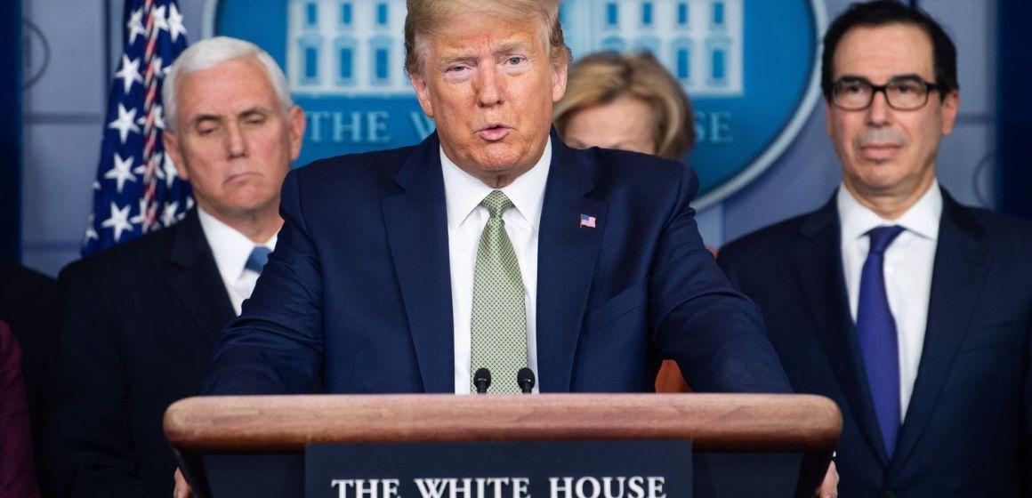 Trump anuncia el cierre temporal de la frontera con Canadá por el coronavirus
