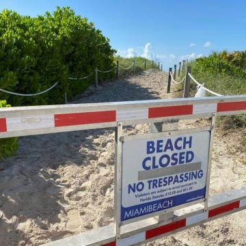 Siete estados de EEUU registran récords de casos de COVID, Miami ordena el toque de queda