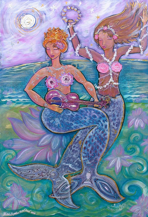 """Sisters Born Of Song"" by Shiloh Sophia McCloud"