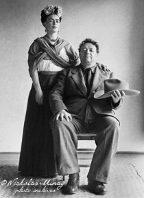 Frida & Diego. 1940 (Photo by Nickolas Muray)