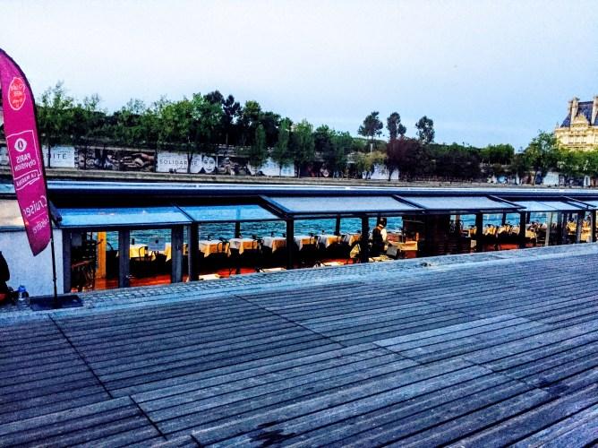 La Marina Paris Seine Dinner Cruise boat