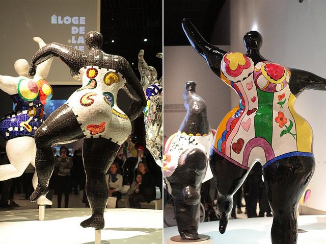Les Trois Grâces by Niki de Saint Phalle (Photo via lilianlau.com)
