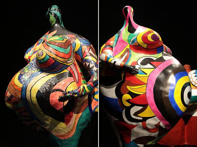 Nana Gwendolyn by Niki de Saint Phalle (Photo via lilianlau.com)