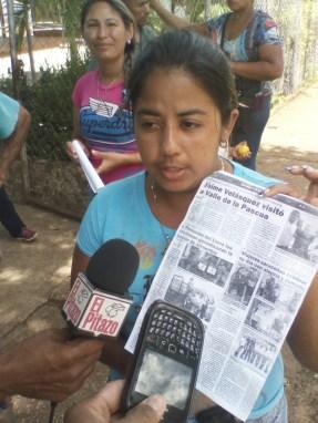 Nudos Delgadillo habló en nombre de los beneficiarios de los Clap y desmintió que hayan recibido estos beneficios