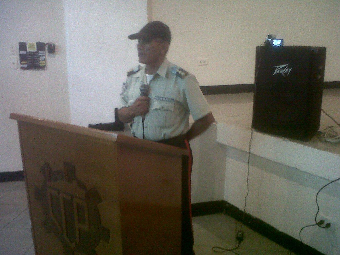 De los cuerpos de seguridad invitados solo la Policía Municipal de Infante hizo acto de presencia
