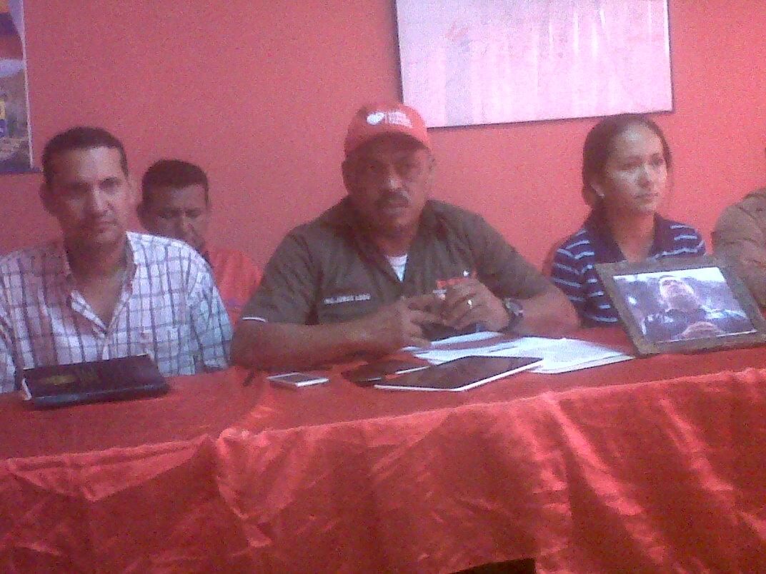 El ingeniero Jorge Luego estuvo acompañado por el cuadro político del PSUV del municipio Leonardo Infante
