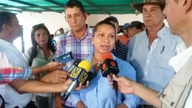 La productora agropecuaria Merlín Soler hizo el llamado a las instituciones del estado para que les brinden el apoyo necesario
