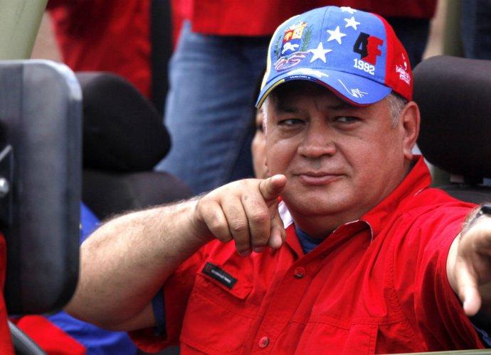 El vicepresidente del PSUV Diosdado Cabello se burla de Kuczynski en las redes sociales