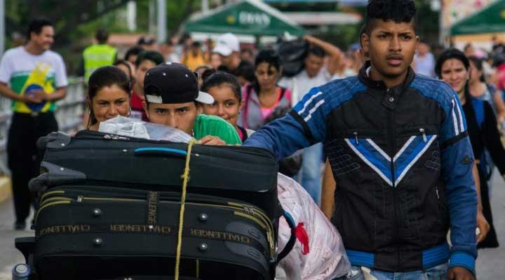 Muchos de los que emigran son Colombianos que deciden regresar a su país tras la crisis económica, social y política que vive Venezuela