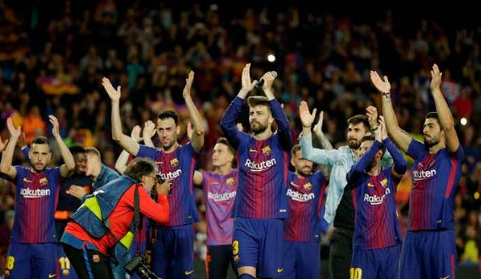 El invicto para el Barca se mantiene llevando buenos puntos en la Liga Española.