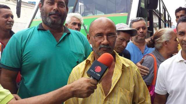 El presidente de la línea El Turpial identificado como Antonio Ortega
