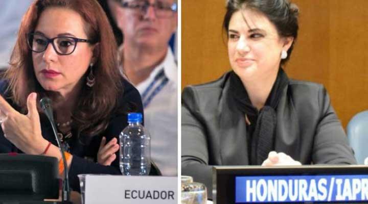La canciller hondureña Mary Elizabeth Flores obtuvo el respaldo de 62 paises