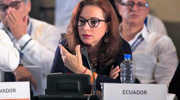 La canciller de Ecuador Maria Fernanda Espinoza, es la nueva presidenta de la Asamblea General de la ONU.