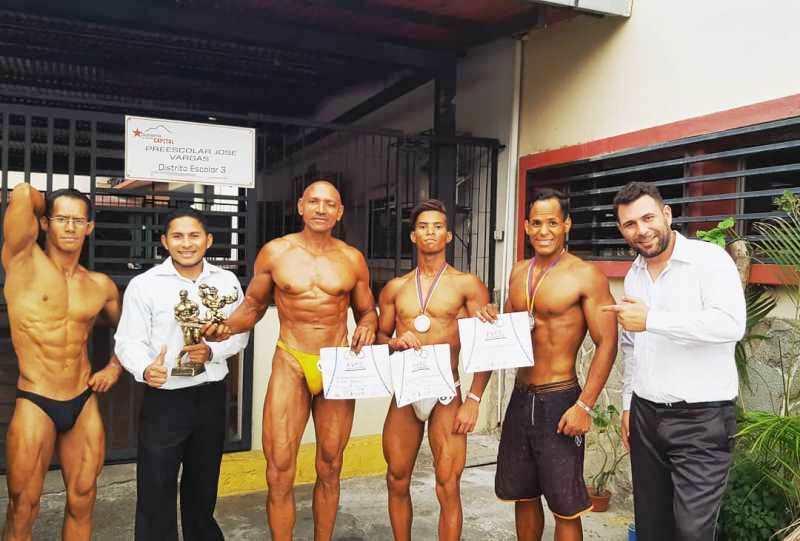Nuestros atletas ganaron en competencia nacional de Fisicoculturismo y Fitness.