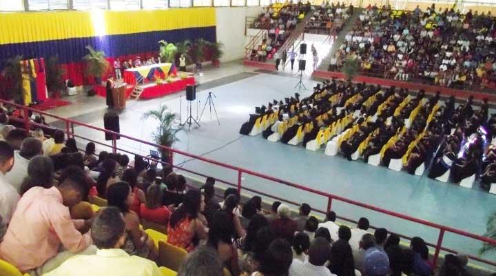 El acto tuvo lugar en el Gimnasio Cubierto de Valle de La Pascua