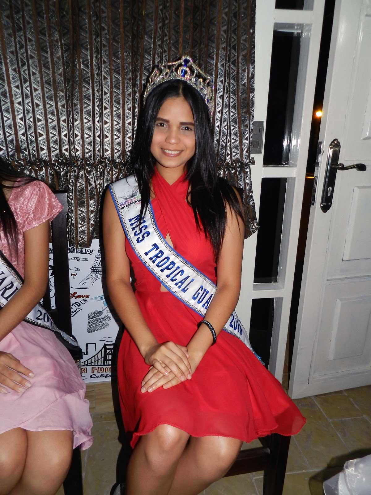 Luisa Peláez Mis Tropical Guárico 2018